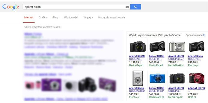 prezentacjaproduktowwgooglezakupy-googlemerchant-aparatyfotograficzne