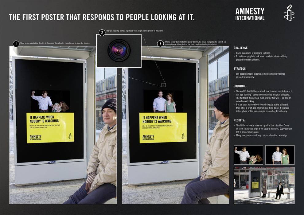 Nośnik DS stworzony dla Amnesty International