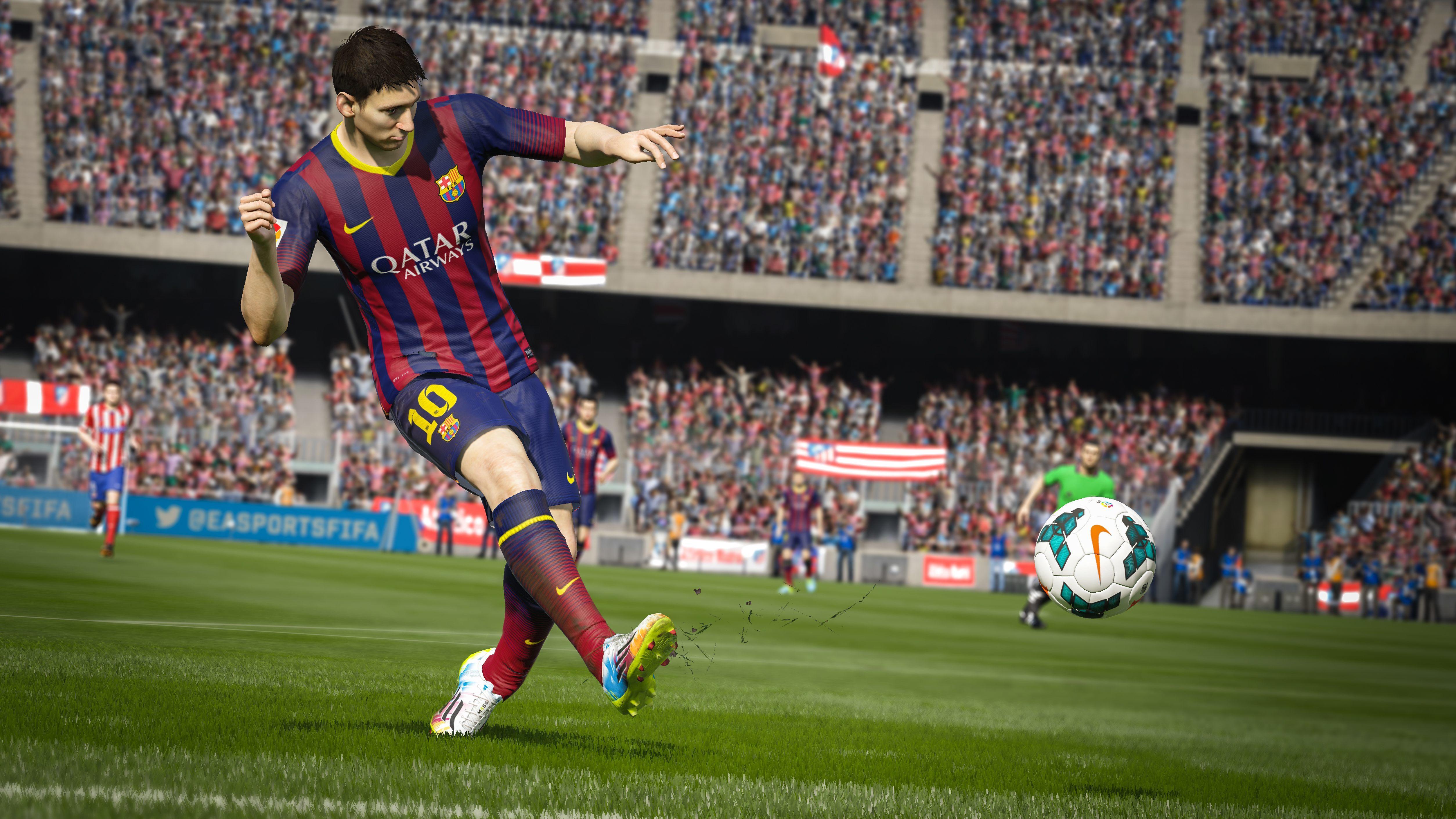 Gra FIFA jest naszpikowana reklamami od sponsorów
