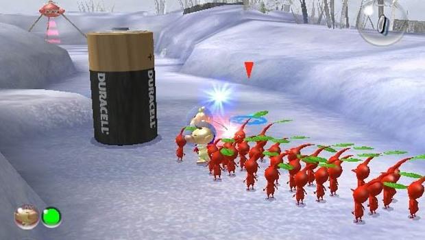 Tak wygląda reklama Duracell w grze Pikmin 2