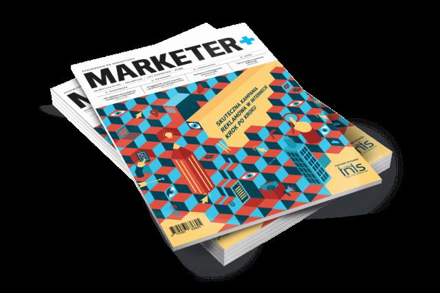 Kampania reklamowa w internecie - 7 bestsellerów Marketera+ na 7 urodziny
