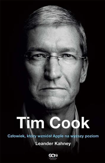 Biografia - Tim Cook - okładka książki