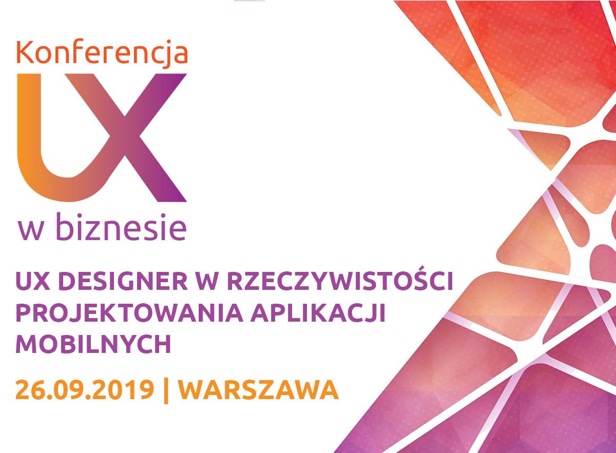 Konferencja UX w biznesie