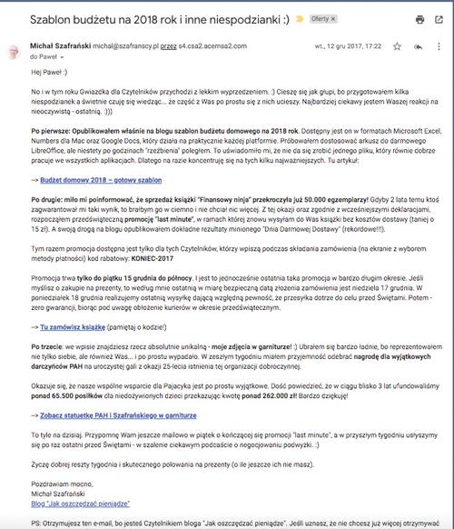 Projektowanie e-maila bepzośredniego