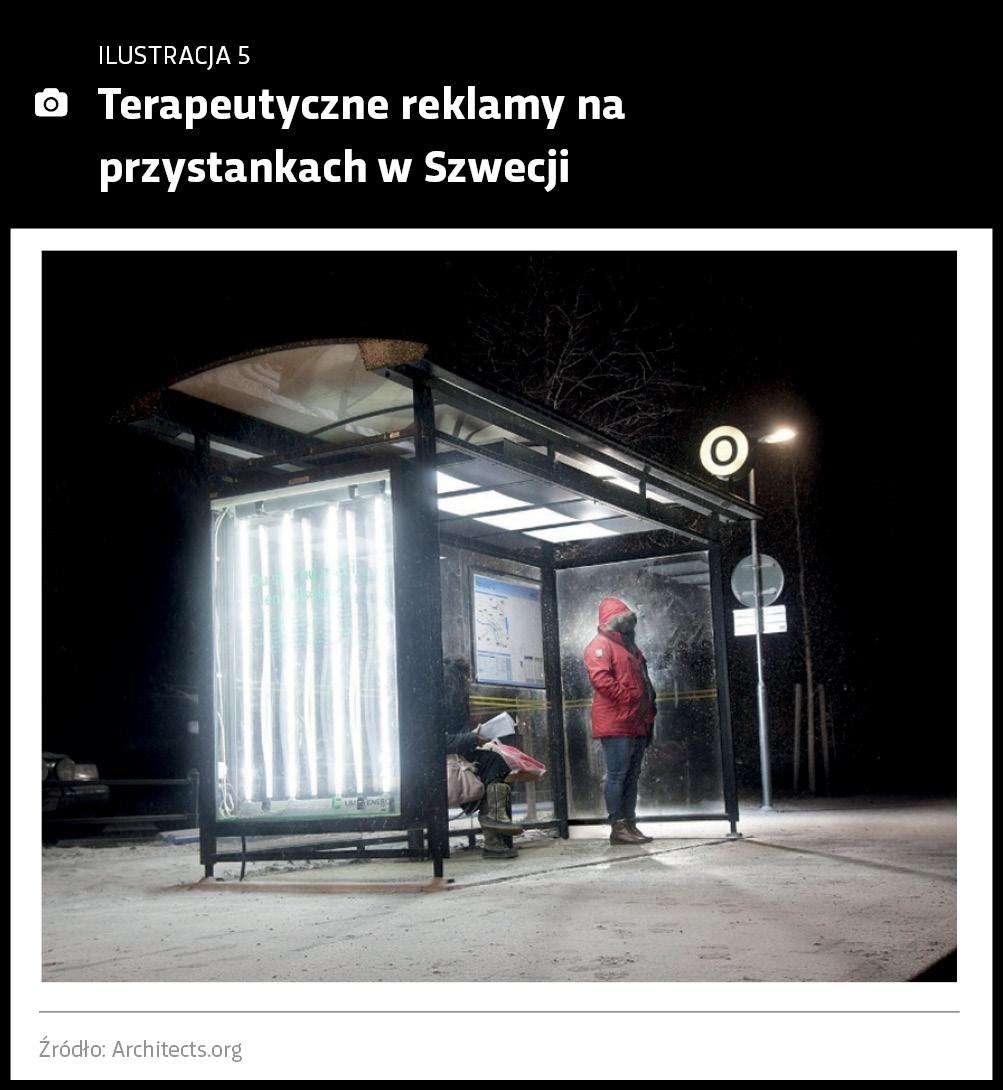 PrzystTerapeutyczne reklamy na przystankach w Szwecji