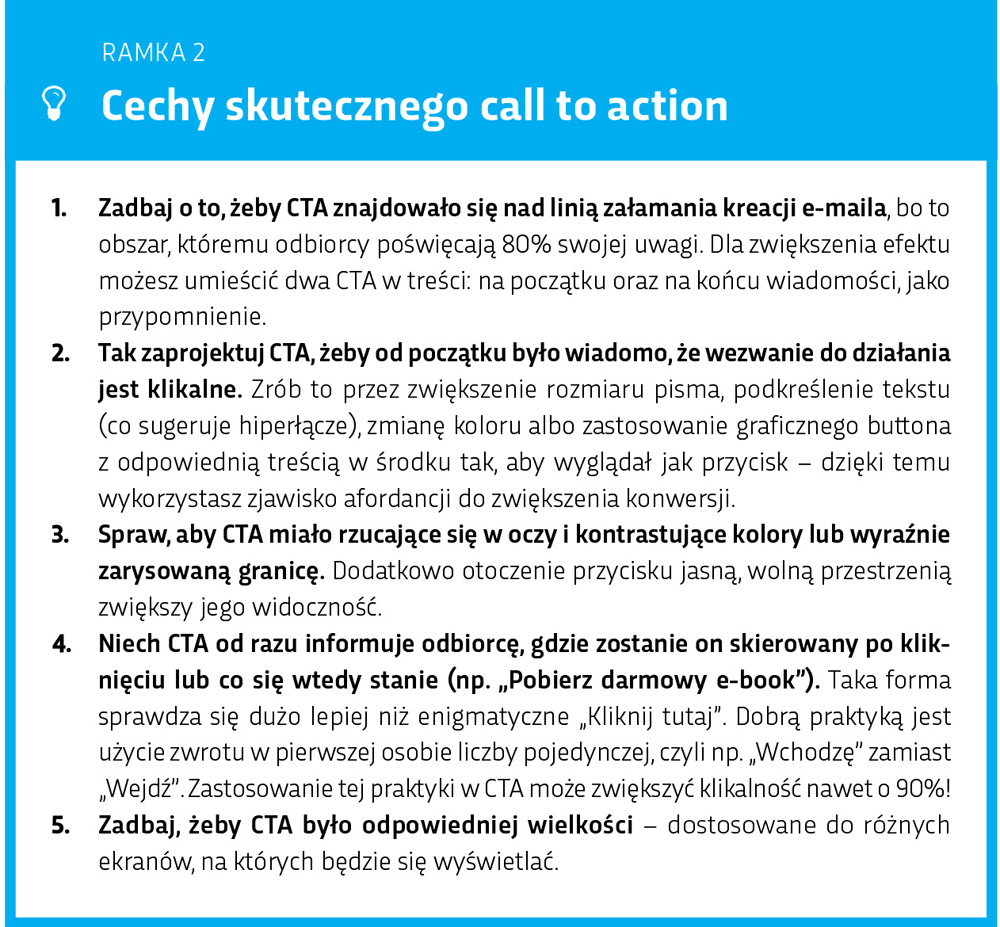 Cechy skutecznego call to action
