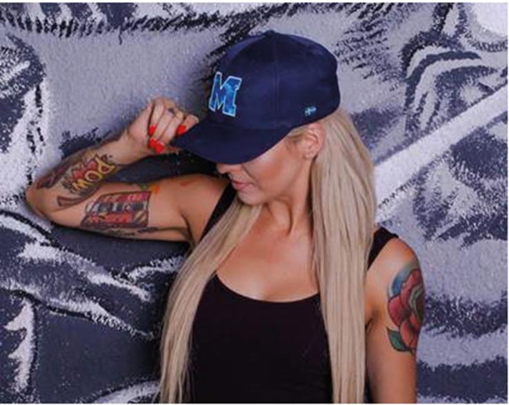 Czapka marki Headwear #4012 - odychający materiał poly twill, sześć paneli, zapięcie na rzep. Producent: Headwear