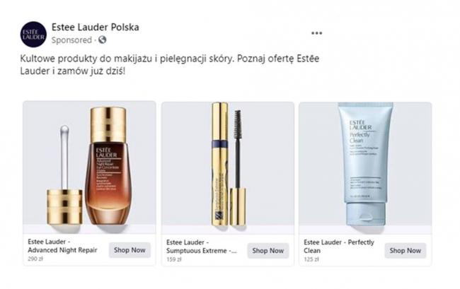 kampania-estee-lauder-polska-na-facebooku