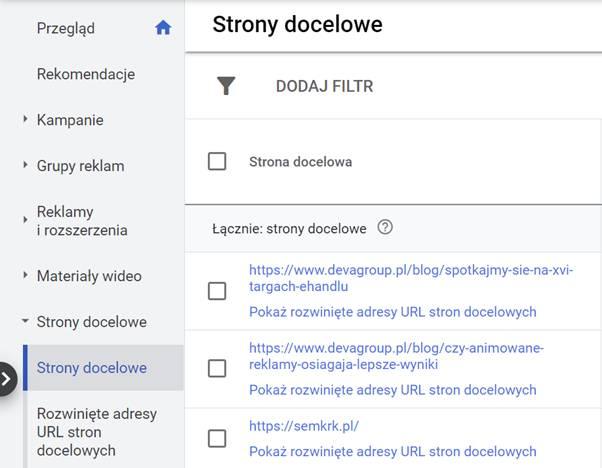 raport-strony-docelowe-w-edytorze-google-ads