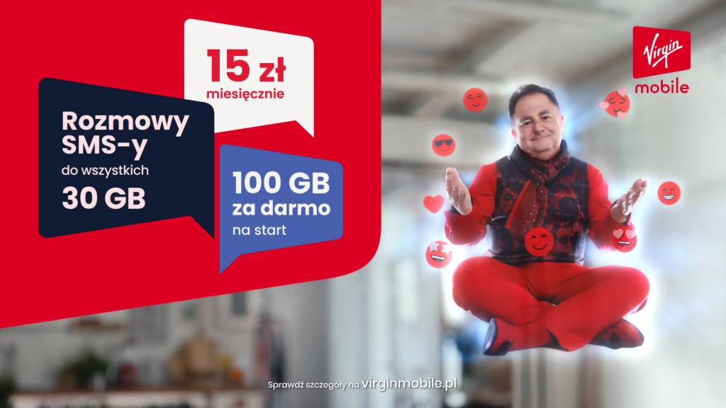 Robert Makłowicz w reklamie Virgin Mobile