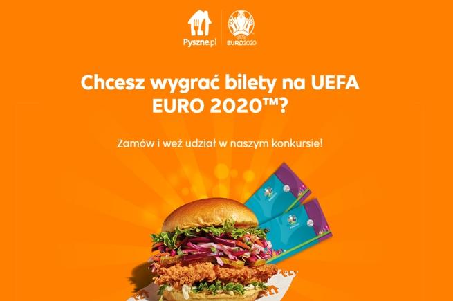 Konkurs Pyszne.pl z okazji EURO 2020